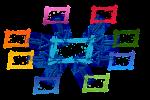 カラフルなネットワークの仕組み