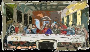 最期の晩餐会