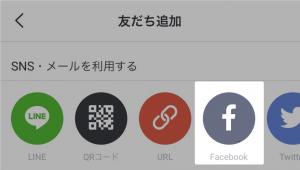 Facebookの友だち追加方法