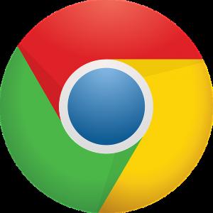 Googleクロームのロゴ