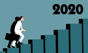2020年へ続く右肩上がりの階段